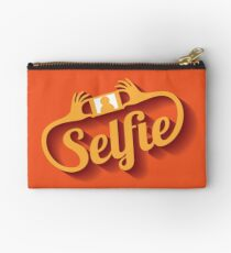 Selfie Design Element EPS 10 vector Studio Pouch
