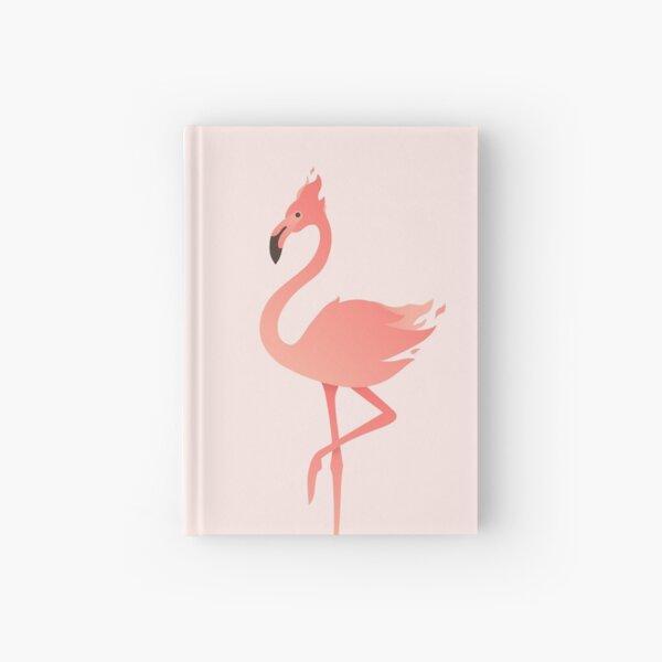 Pink Flaming Flamingo Hardcover Journal