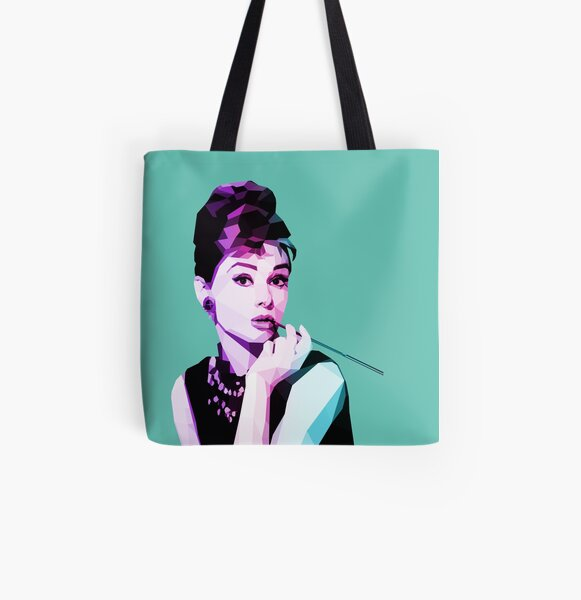 Breakfast at Tiffany's  All Over Print Tote Bag