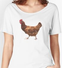 Chicken Women's Relaxed Fit T-Shirt