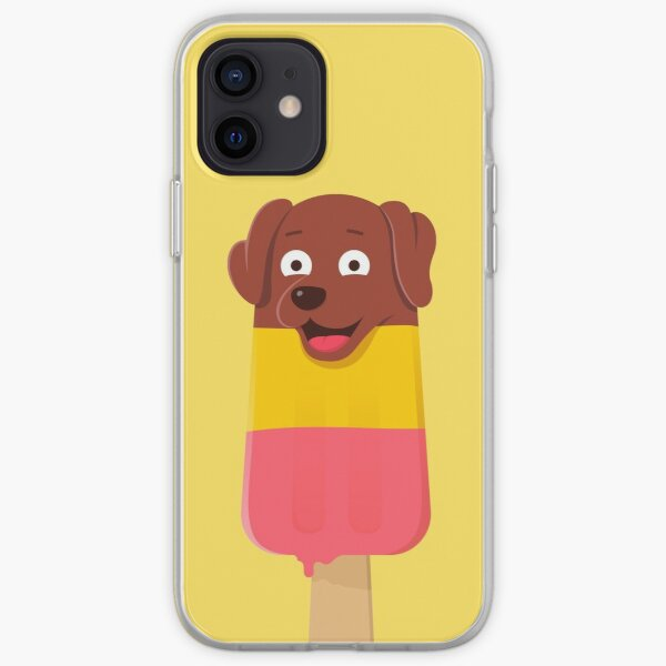 Puppy Popsicle (Pupsicle) iPhone Soft Case