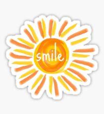 Lächeln. Sticker