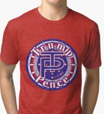 TRUMP PENCE 2016 Tri-blend T-Shirt