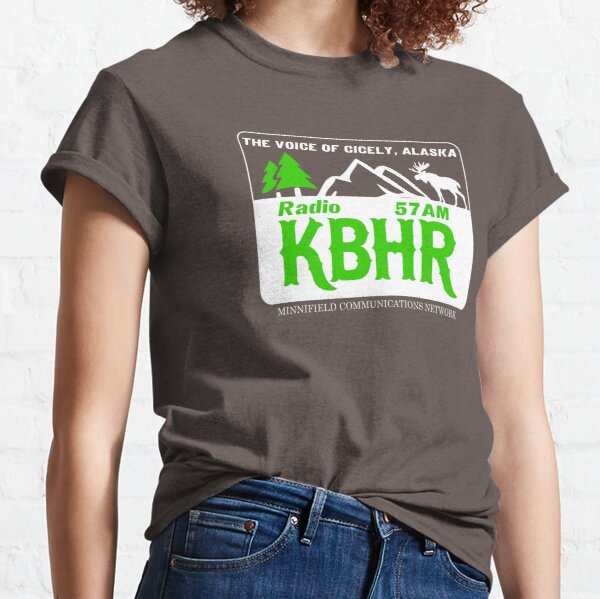 Radio K-BHR  : Inspired by Northern Exposure Classic T-Shirt
