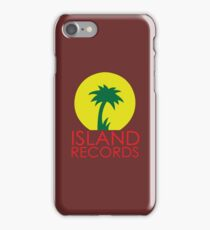 Island records Jamaica  iPhone Case/Skin