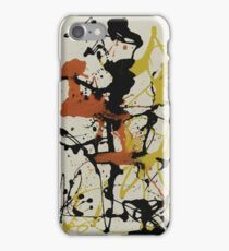 Number 26 by Pollock  iPhone Case/Skin