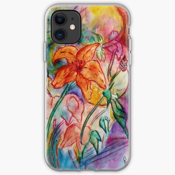 Wild Lily iPhone Soft Case