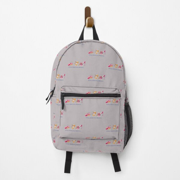 Coffee Shop Cozy Mystery Backpack