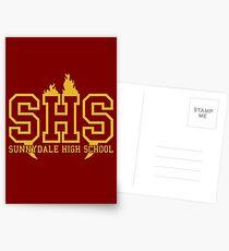 Sunnydale High School Postcards