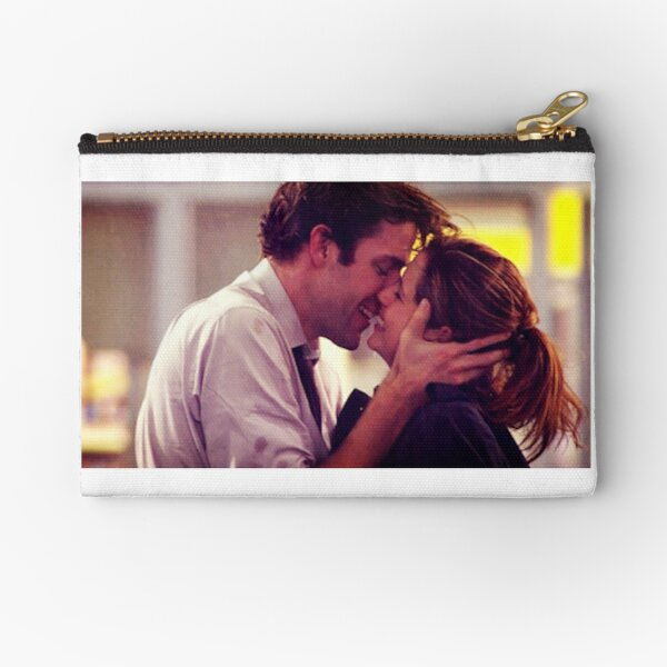 Jim and Pam proposal kissing Zipper Pouch