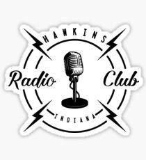 Hawkins Radio Club Sticker