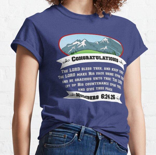 Congratulations - Blessing Classic T-Shirt