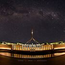 Southern Sky Parliament House  by Andrew Prince