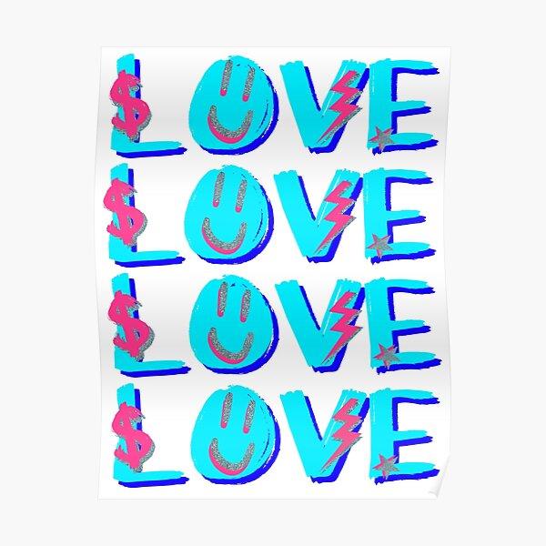 preppy LOVE Poster