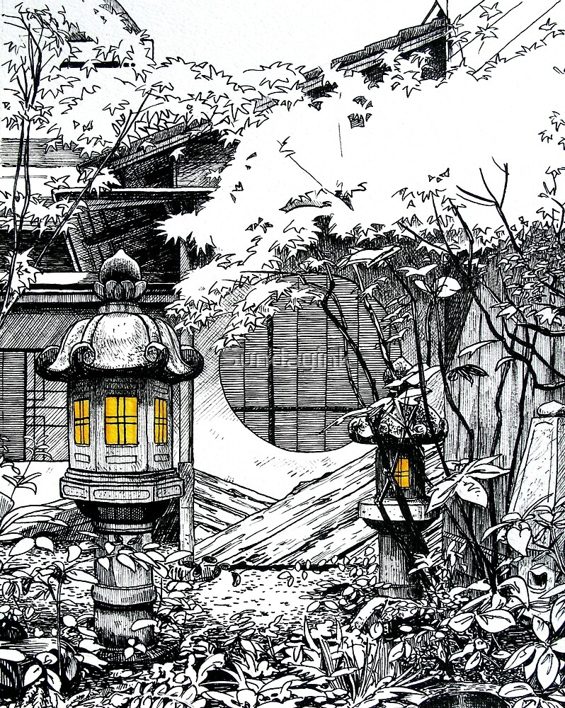 Teahouse, Kanazawa by Sundayink