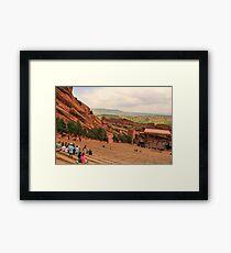 Red Rocks Amphitheatre Framed Print