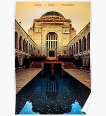 National War Memorial Canberra Poster