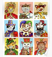 The Royal Court of Cats Poster