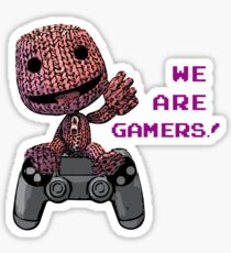 Inspired by Sackboy of Little Big Planet Sticker