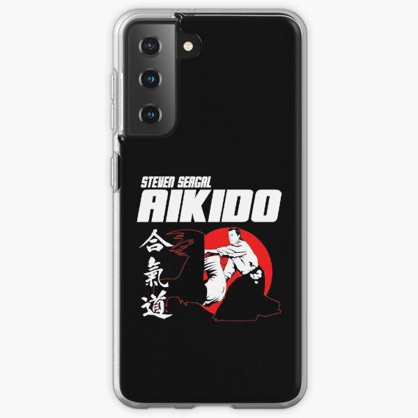 STEVEN SEAGAL AIKIDO MARTIAL ARTS JAPAN KANJI Samsung Galaxy Soft Case