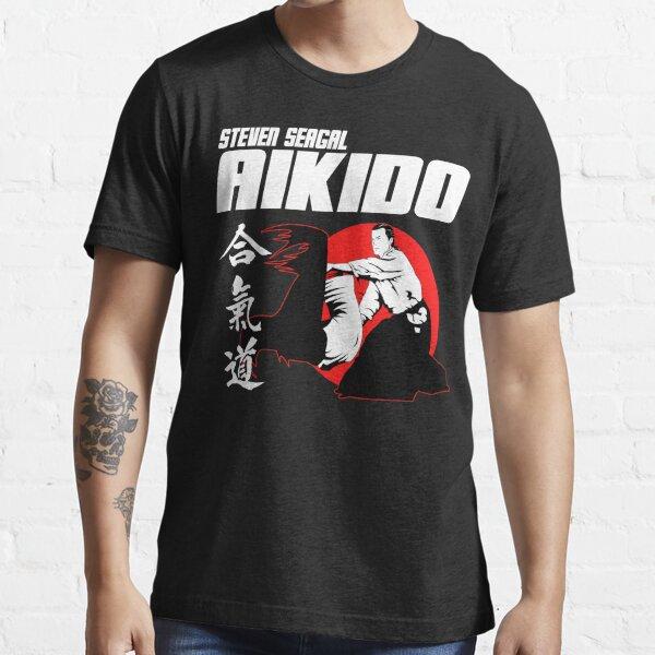 STEVEN SEAGAL AIKIDO MARTIAL ARTS JAPAN KANJI Essential T-Shirt
