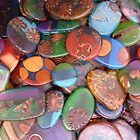 Coloured Resin Beads Design 2 by noworrybeads