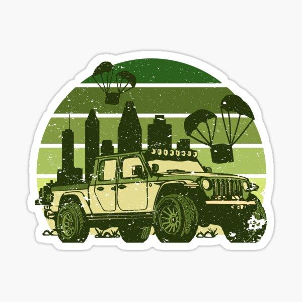 OFF-ROAD VEHICLE Sticker