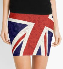 Flying Union Jack Mini Skirt