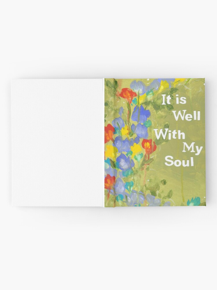 Alternate view of It Is Well Hardcover Journal