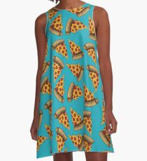 Pizza is LIFE A-Line Dress