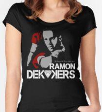 RIP RAMON DIAMOND DEKKERS DUTCH MUAY THAI CHAMPION LEGEND  Women's Fitted Scoop T-Shirt