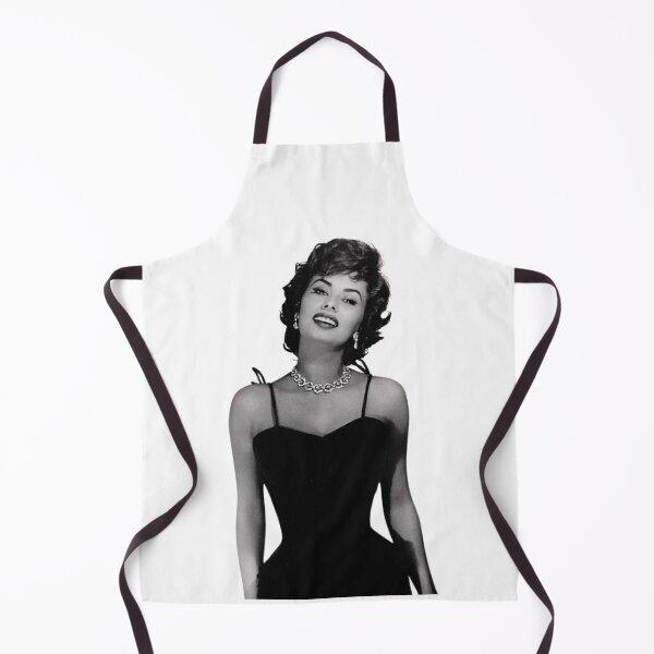 Sophia Loren, 1950s. Apron