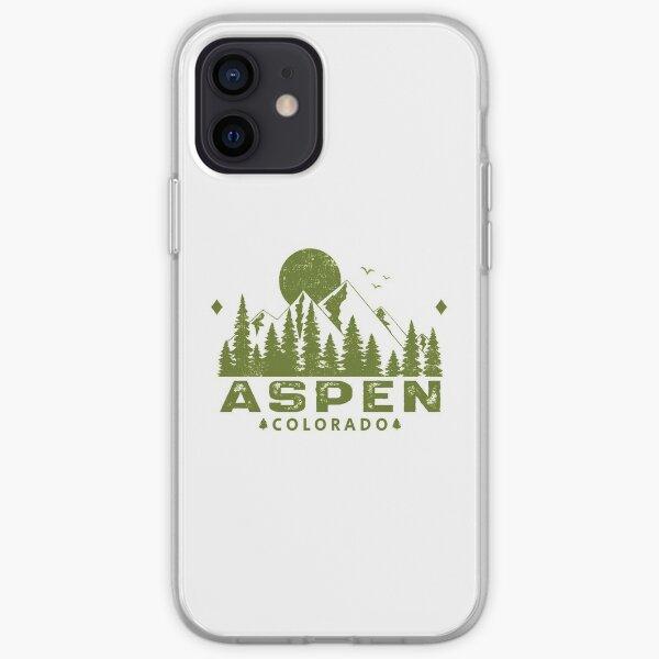 Aspen Colorado Mountain View iPhone Soft Case