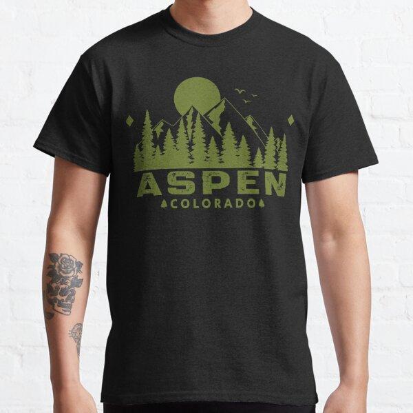 Aspen Colorado Mountain View Classic T-Shirt
