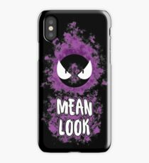 Mean Look iPhone Case