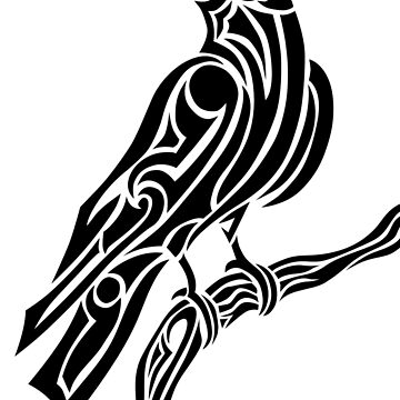 Tribal Crow by livesintheboonies