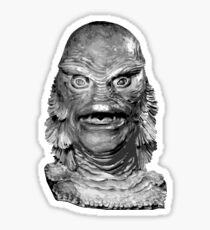Creature Of The Black Lagoon Sticker