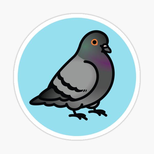 Chubby Pigeon Sticker