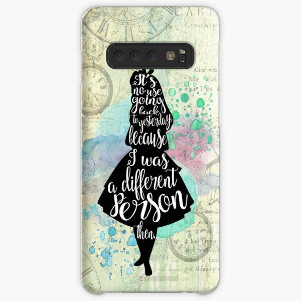 Alice - I Was A Different Person Then Samsung Galaxy Snap Case