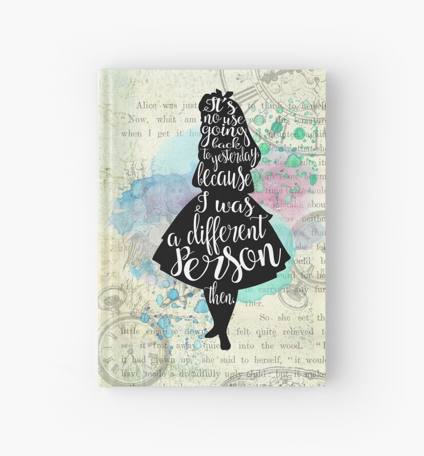 Alice - I Was A Different Person Then by eviebookish