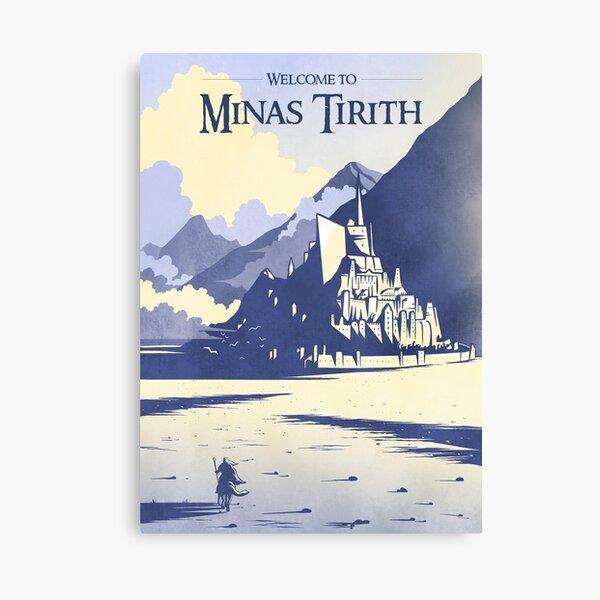 Welcome to Minas Tirith Canvas Print