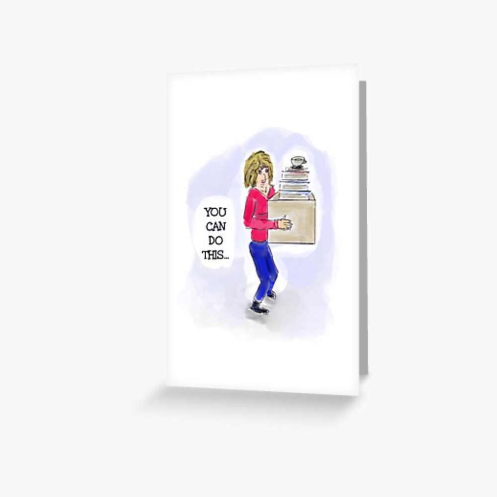 Inspiring Quote: You Can Do This Greeting Card