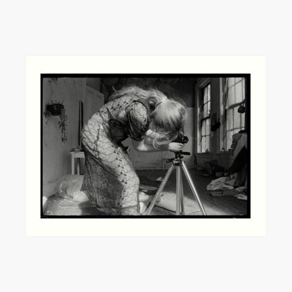 Francesca Woodman - Fotografía sin título Lámina artística