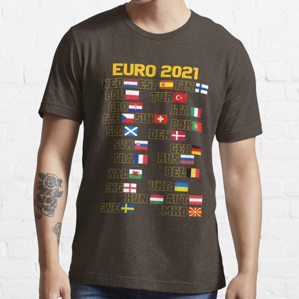 Euro 2021 Contestants Design Essential T-Shirt