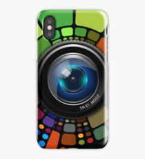 Camera Lens Graphic Design iPhone Case/Skin