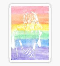Rainbow Harry Styles Sticker