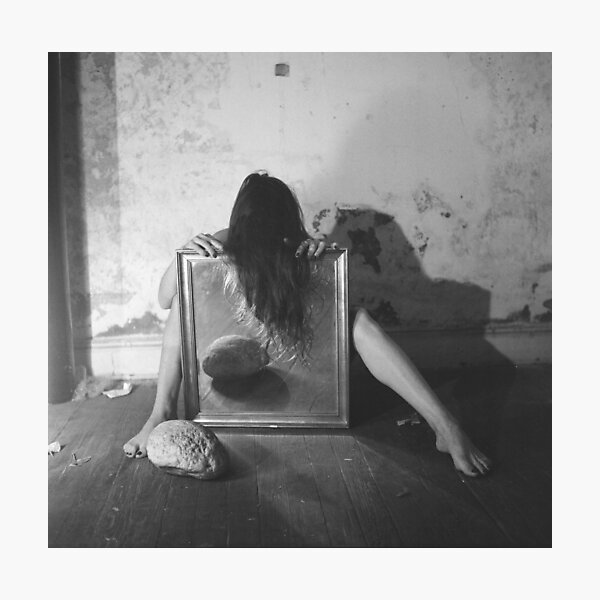 Francesca Woodman - Self Portrait #2 Photographic Print