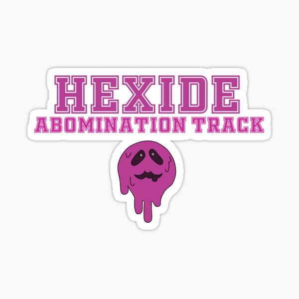 hexide abomination track Sticker