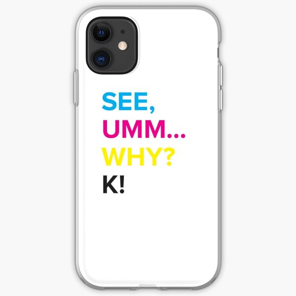 CMYK - For the Design Geek Inside You iPhone Soft Case