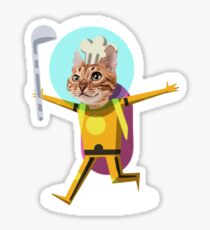 Sous Chef Catrick Meowsley Sticker